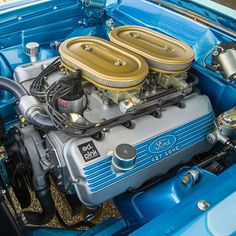 Probably a blast to drive and that engine! Ford Racing Engines, Chevy, Crate Motors, Crate Engines, Performance Engines, Old Race Cars, Ford Classic Cars, Ford Fairlane, Car Engine