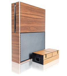 Balolo XBox One and PS 4 Wood Gaming Console Covers Photo