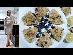 Изумительные Сконы из Голубики и Лимона - Blueberry Scones - Рецепт от Эгине - Heghineh Cooking Show - YouTube Бискотти, Печенье, Выпечка, Завтрак, Десерты, Youtube, Окропляет