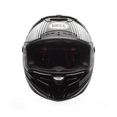 #Bell #Race #Star #Tracer #Black&White #Motorbike #Helmet #Motorsport #Racing #GP #bw #helmetdesign Buy yours on www.helmade.com
