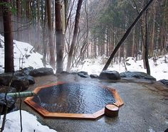 Tohoku, Japan's onsen (hot spring) paradise Olsen in North Japan
