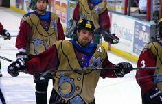 "Quad City Mallards ""Western"" Alternate - The 25 Ugliest Uniforms in Sports History   Complex"