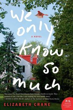 4 pm    Your Guide to Family Dysfunction: Elizabeth Crane reads from her portrait of a family, the novel We Only Know So Much.