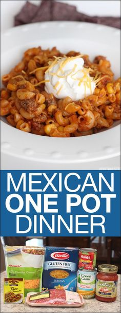 This is the easiest (and yummiest) Mexican dinner you'll ever make. The best part? Only one pot to clean! Come check out the recipe and a new update in our kitchen (hint: a new KOHLER faucet!) #ad #kohlerideas