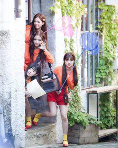 [OFFICIAL] 180605 MOB Naver Post Update - fromis_9's '두근두근(DKDK)' M/V Filming Site