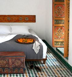 Dar Seffarine in Fes, Morocco: Hippy living meets designer hotel: a unique combination, and a bargain in the heart of Fes's medina http://www.i-escape.com/dar-seffarine/overview