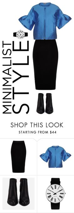"""Minimalist style"" by ellasophialove on Polyvore featuring River Island, P.A.R.O.S.H., Alexander Wang and Rosendahl"