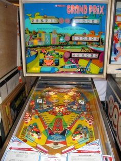 "1976 Grand Prix ""Williams"" Pinball Machine"