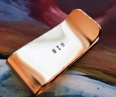 Customized Money Clip  Hand Stamped Metal by BlueCornerCreasigns