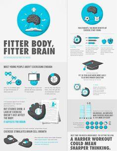 fitter body, fitter brain