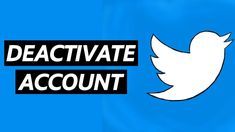 How To Deactivate Twitter Account On Android Mobile Phone Accounting, Android, Iphone, Logos, Twitter, Logo