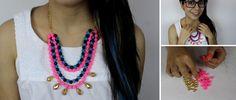 Tutorial para crear collares de colores
