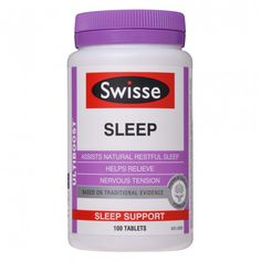Do you lay awake tossing and turning? Do you fall asleep only to wake up again? Swisse Ultiboost Sleep can help to calm, relax and enhance the quality of your sleep. Bounce out of bed each morning ready to celebrate the day! Swisse Ultiboost Sleep is a combination of relaxing and sedative herbs, some used traditionally in Chinese medicine for several thousand years.