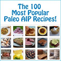 Over the past 2 years, almost 2,000 recipes have been shared through the weekly Paleo AIP Recipe Roundtable. What an amazing feat! 3 years ago, when I first did the autoimmune protocol, there were very few recipes available. I love how this community has grown! To celebrate, I checked the linkup sta