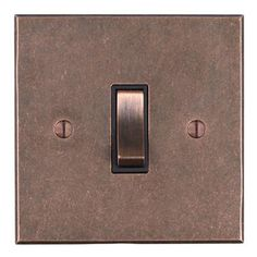 Shop our stylish, hand forged, 13 amp double plug socket in copper with a bevelled back plate for contemporary touch to your bedroom, kitchen, living room.