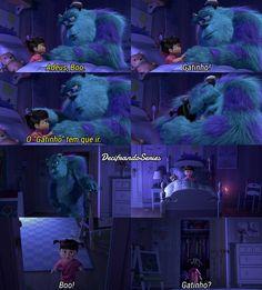 Monstros S.A Disney Pixar, Disney Films, Disney And Dreamworks, Tv Show Quotes, Movie Quotes, Disney Secrets, Walt Disney Animation Studios, Cinema, Netflix Movies