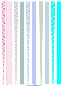 Free Pandore Paper Bead Templates