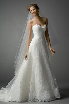 Watters Brides Farrin Gown I love this gown.