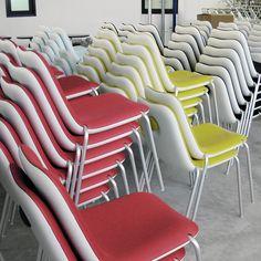 Boum #stackable #chair #Kristalia