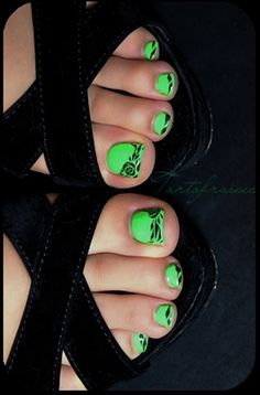 cute toe nail art (6)
