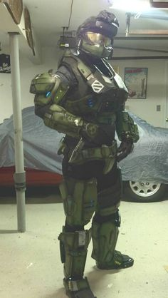 Halo Reach Mark V Armor costume