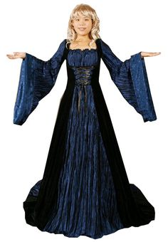 Authentic Renaissance Faire Costume | Patterns for Ladies Medieval Costumes – nice site, especially when ...