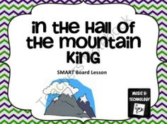 In the Hall of the Mountain King SMART Board Activity from Music and Technology on TeachersNotebook.com - (1 page) - Listening Activity for In the Hall of the Mountain King by Edvard Grieg.