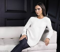 Charity chic: Victoria Beckham will sell 600 items of her wardrobe on The Outnet to raise ...