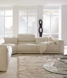 Malibu Sofa or Sectional Group - Contemporary living room sofa or sectional