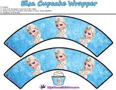Olaf cupcake Wrapper