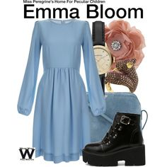 Inspired by Ella Purnell as Emma Bloom in 2016's Miss Peregrine's Home for Peculiar Children