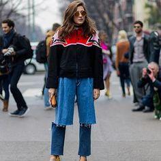 10 Denim Pieces To Buy That Aren't Skinny Jeans #fashion #denim #jeans
