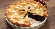 Découvrez cette recette de Tarte aux cerises et au chocolat pour 4 personnes, vous adorerez! 20 Min, Pie, Baking, Fruit, Sweet, Desserts, Food, Juliette, Orchards