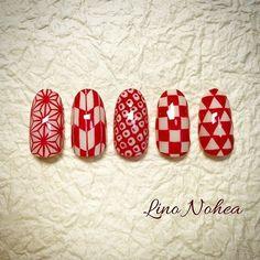 浴衣/お正月/成人式/卒業式/和 - LinoNoheaのネイルデザイン[No.2748069]|ネイルブック Summer Holiday Nails, Summer Nails, Coffin Nails, Acrylic Nails, Pastel Nails, New Year's Nails, 3d Nails, Red Nail Designs, Japanese Nail Art