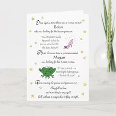 Personalize our Funny Fairy Tale Engagement Card - tap, personalize, buy right now!  #'personalized #engagement #cards #funny #engagement Engagement Humor, Engagement Cards, Wedding Postcard, Getting Engaged, Funny Cards, Custom Greeting Cards, Card Sizes, Thoughtful Gifts, Paper Texture