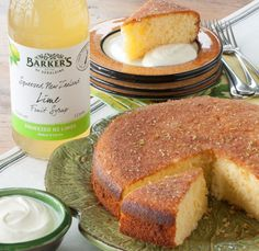 Lime Syrup Cake - Top 10 Best New Zealand Recipes