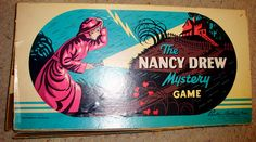 Nancy Drew board game from the 1950s
