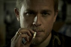 "Charlie Hunnam as ""Jax"" in Sons of Anarchy"