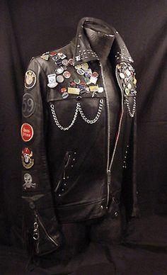 Frank-N-Furter's leather jacket