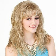 Kylie Wig - No one will know you're wearing a wig! The textured fibers create a natural, air-dried look of human hair.