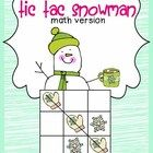 Kids love tic tac toe, so why not turn it into a math practice game.  Included in this are addition and subtraction (up to 12) game cards,  blank g...