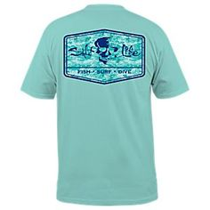 Salt Life At Ease T-Shirt for Men | Bass Pro Shops: The Best Hunting, Fishing, Camping & Outdoor Gear