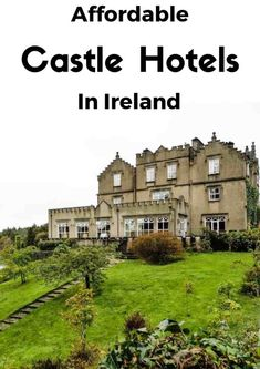 Affordable Castle Hotels in Ireland Staying in an Irish castle is a dream for many. Here are 8 affordable Castle Hotels in Ireland perfect that offer the fairytale experience on a budget. Oh The Places You'll Go, Places To Travel, Travel Destinations, Places To Visit, Scotland Travel, Ireland Travel, Galway Ireland, Cork Ireland, Backpacking Ireland