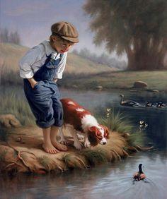 """Slo Poke"" -- by Mark Arian (American, b.1947)"