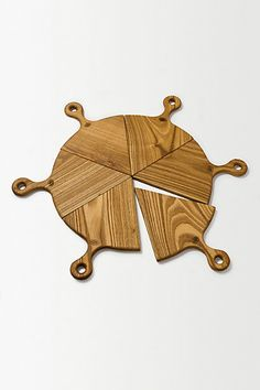 Pizza Slice Boards #anthropologie. Such a good gift idea.