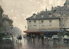 Joseph Zbukvic   ... watercolor artists that inspire me greatly part 1: Joseph Zbukvic