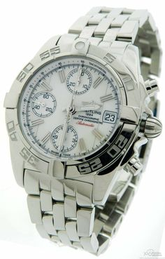 $4,095 Men's #Breitling Chrono Galactic A13358 Automatic Date #Watch | Discount Luxury watches