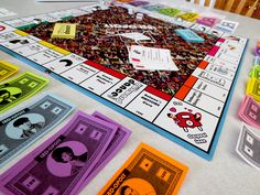 Lizzie Bennet Diaries Monopoly!