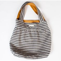 EmersonMade. ~ Goldie and Stripes Reversible Bag