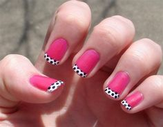 This look really cute.    Uhmm... I really like dots!